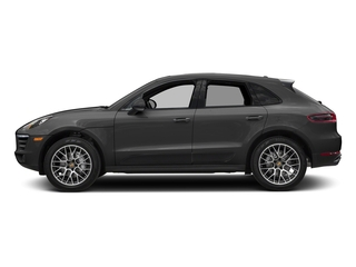 Volcano Grey Metallic 2018 Porsche Macan Pictures Macan Turbo AWD w/Performance Pkg photos side view