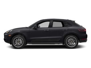Jet Black Metallic 2018 Porsche Macan Pictures Macan Utility 4D GTS AWD V6 Turbo photos side view