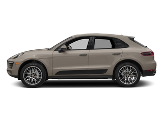 Palladium Metallic 2018 Porsche Macan Pictures Macan Turbo AWD w/Performance Pkg photos side view