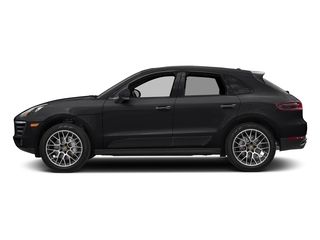 Black 2018 Porsche Macan Pictures Macan Turbo AWD w/Performance Pkg photos side view
