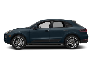 Night Blue Metallic 2018 Porsche Macan Pictures Macan Utility 4D GTS AWD V6 Turbo photos side view