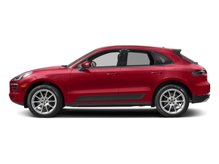 Carmine Red 2018 Porsche Macan Pictures Macan AWD photos side view