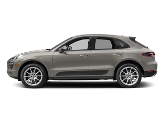 Agate Grey Metallic 2018 Porsche Macan Pictures Macan Utility 4D AWD I4 Turbo photos side view