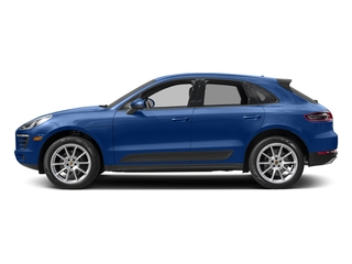 Sapphire Blue Metallic 2018 Porsche Macan Pictures Macan Utility 4D AWD I4 Turbo photos side view