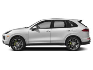 Carrara White Metallic 2018 Porsche Cayenne Pictures Cayenne S E-Hybrid AWD photos side view