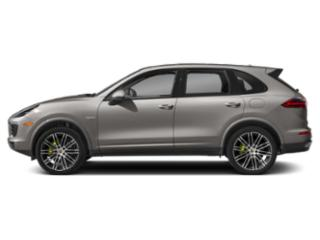 Palladium Metallic 2018 Porsche Cayenne Pictures Cayenne S E-Hybrid AWD photos side view