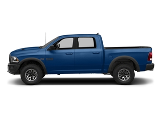 Blue Streak Pearlcoat 2018 Ram Truck 1500 Pictures 1500 Rebel 4x4 Crew Cab 5'7 Box photos side view