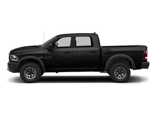 Brilliant Black Crystal Pearlcoat 2018 Ram Truck 1500 Pictures 1500 Rebel 4x4 Crew Cab 5'7 Box photos side view