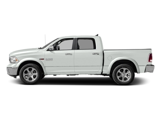 Bright White Clearcoat 2018 Ram Truck 1500 Pictures 1500 Laramie 4x2 Crew Cab 5'7 Box photos side view