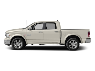 Pearl White 2018 Ram Truck 1500 Pictures 1500 Laramie 4x2 Crew Cab 5'7 Box photos side view