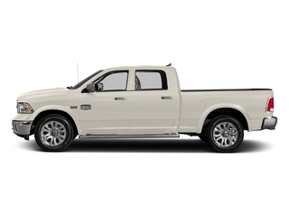 Pearl White 2018 Ram Truck 1500 Pictures 1500 Longhorn 4x2 Crew Cab 6'4 Box *Ltd Avail* photos side view