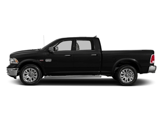 Brilliant Black Crystal Pearlcoat 2018 Ram Truck 1500 Pictures 1500 Longhorn 4x2 Crew Cab 6'4 Box *Ltd Avail* photos side view