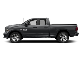 Granite Crystal Metallic Clearcoat 2018 Ram Truck 1500 Pictures 1500 Sport 4x4 Quad Cab 6'4 Box *Ltd Avail* photos side view
