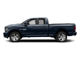 True Blue Pearlcoat 2018 Ram Truck 1500 Pictures 1500 Sport 4x4 Quad Cab 6'4 Box *Ltd Avail* photos side view