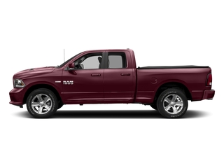Delmonico Red Pearlcoat 2018 Ram Truck 1500 Pictures 1500 Sport 4x4 Quad Cab 6'4 Box *Ltd Avail* photos side view