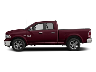 Delmonico Red Pearlcoat 2018 Ram Truck 1500 Pictures 1500 Laramie 4x4 Quad Cab 6'4 Box photos side view