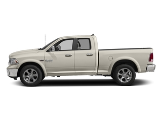 Pearl White 2018 Ram Truck 1500 Pictures 1500 Laramie 4x4 Quad Cab 6'4 Box photos side view