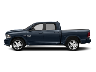 True Blue Pearlcoat 2018 Ram Truck 1500 Pictures 1500 Night 4x4 Crew Cab 6'4 Box *Ltd Avail* photos side view