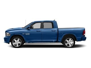Blue Streak Pearlcoat 2018 Ram Truck 1500 Pictures 1500 Night 4x4 Crew Cab 6'4 Box *Ltd Avail* photos side view