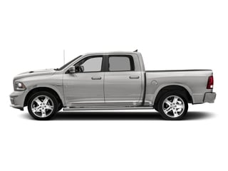 Bright Silver Metallic Clearcoat 2018 Ram Truck 1500 Pictures 1500 Night 4x4 Crew Cab 6'4 Box *Ltd Avail* photos side view