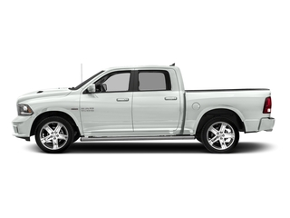 Bright White Clearcoat 2018 Ram Truck 1500 Pictures 1500 Night 4x4 Crew Cab 6'4 Box *Ltd Avail* photos side view