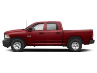 Flame Red Clearcoat 2018 Ram Truck 1500 Pictures 1500 Crew Cab Tradesman 4WD photos side view