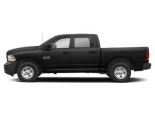 Black Clearcoat 2018 Ram Truck 1500 Pictures 1500 Crew Cab Tradesman 4WD photos side view