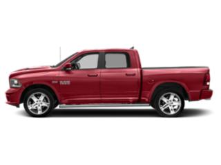 Flame Red Clearcoat 2018 Ram Truck 1500 Pictures 1500 Crew Cab Sport 2WD photos side view