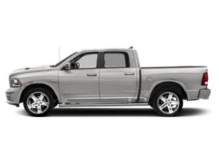 Bright Silver Metallic Clearcoat 2018 Ram Truck 1500 Pictures 1500 Crew Cab Sport 2WD photos side view