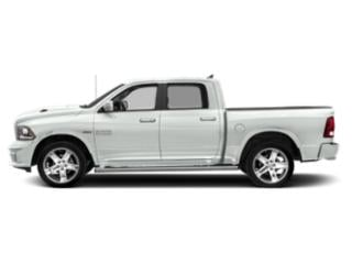 Bright White Clearcoat 2018 Ram Truck 1500 Pictures 1500 Night 4x2 Crew Cab 6'4 Box *Ltd Avail* photos side view