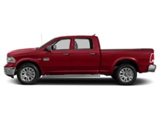 Flame Red Clearcoat 2018 Ram Truck 1500 Pictures 1500 Crew Cab Longhorn 2WD photos side view