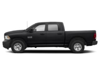 Black Clearcoat 2018 Ram Truck 1500 Pictures 1500 Tradesman 4x2 Crew Cab 5'7 Box photos side view