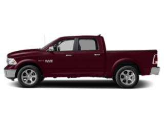 Delmonico Red Pearlcoat 2018 Ram Truck 1500 Pictures 1500 Crew Cab Laramie 4WD photos side view