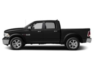 Brilliant Black Crystal Pearlcoat 2018 Ram Truck 1500 Pictures 1500 Crew Cab Laramie 2WD photos side view