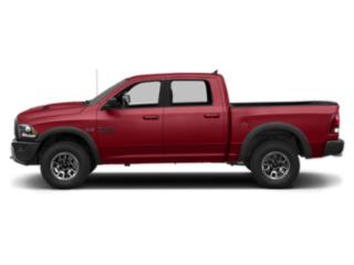 Flame Red Clearcoat 2018 Ram Truck 1500 Pictures 1500 Crew Cab Rebel 2WD photos side view