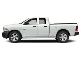 Bright White Clearcoat 2018 Ram Truck 1500 Pictures 1500 HFE 4x2 Quad Cab 6'4 Box photos side view