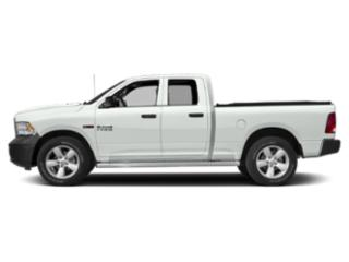 Bright White Clearcoat 2018 Ram Truck 1500 Pictures 1500 Quad Cab HFE 2WD V6 T-Diesel photos side view