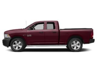 Delmonico Red Pearlcoat 2018 Ram Truck 1500 Pictures 1500 Quad Cab HFE 2WD V6 T-Diesel photos side view
