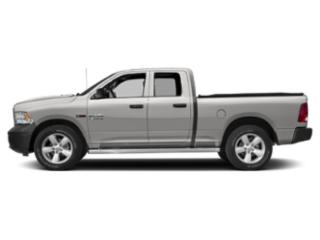 Bright Silver Metallic Clearcoat 2018 Ram Truck 1500 Pictures 1500 HFE 4x2 Quad Cab 6'4 Box photos side view