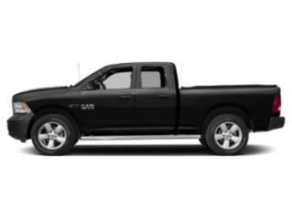 Brilliant Black Crystal Pearlcoat 2018 Ram Truck 1500 Pictures 1500 HFE 4x2 Quad Cab 6'4 Box photos side view