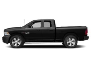 Brilliant Black Crystal Pearlcoat 2018 Ram Truck 1500 Pictures 1500 Quad Cab HFE 2WD V6 T-Diesel photos side view