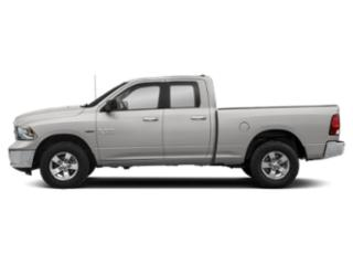 Bright Silver Metallic Clearcoat 2018 Ram Truck 1500 Pictures 1500 Quad Cab SLT 2WD photos side view