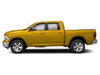 Yellow 2018 Ram Truck 1500 Pictures 1500 Lone Star 4x2 Crew Cab 5'7 Box photos side view