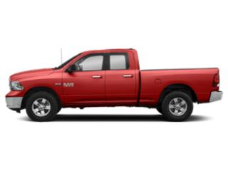 Bright Red 2018 Ram Truck 1500 Pictures 1500 Quad Cab SLT 2WD photos side view