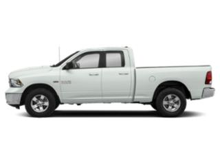 Bright White Clearcoat 2018 Ram Truck 1500 Pictures 1500 Quad Cab SLT 2WD photos side view