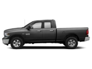 Black Clearcoat 2018 Ram Truck 1500 Pictures 1500 Quad Cab SLT 2WD photos side view