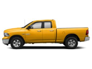 Detonator Yellow Clearcoat 2018 Ram Truck 1500 Pictures 1500 Quad Cab SLT 2WD photos side view