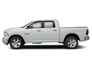 Bright White Clearcoat 2018 Ram Truck 1500 Pictures 1500 Lone Star 4x2 Crew Cab 5'7 Box photos side view