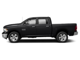 Black Clearcoat 2018 Ram Truck 1500 Pictures 1500 Lone Star 4x2 Crew Cab 5'7 Box photos side view