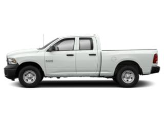 Bright White Clearcoat 2018 Ram Truck 1500 Pictures 1500 Quad Cab Express 4WD photos side view